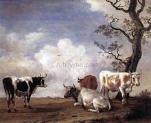 Bulls Paintings