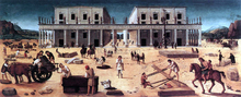 The Building of a Palace - Piero Di Cosimo