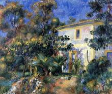 Algiers Landscape - Pierre Auguste Renoir