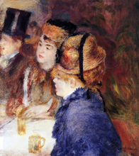 At the Cafe - Pierre Auguste Renoir