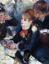 At the Milliner's - Pierre Auguste Renoir