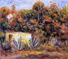 Cabin with Aloe Plants - Pierre Auguste Renoir