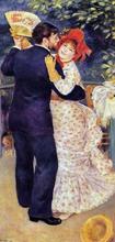 A Country Dance - Pierre Auguste Renoir