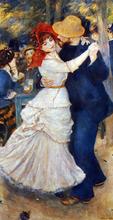 A Dance at Bougival - Pierre Auguste Renoir