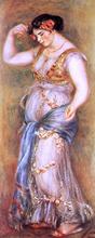 Dancer with Castanettes - Pierre Auguste Renoir