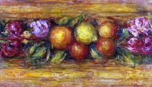 Garland of Fruit and Flowers - Pierre Auguste Renoir