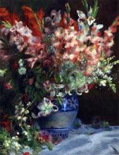 Gladiolas in a Vase