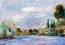 House on the River - Pierre Auguste Renoir