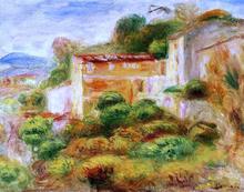 La Maison de la Poste - Pierre Auguste Renoir