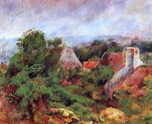 La Roche-Goyon - Pierre Auguste Renoir