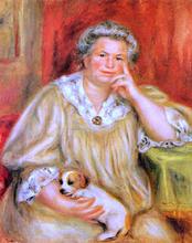 Madame Renoir with Bob - Pierre Auguste Renoir