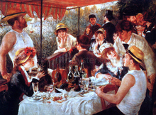 Boating Party Lunch - Pierre Auguste Renoir