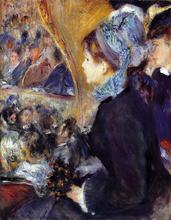 A First Outing - Pierre Auguste Renoir