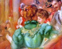 The Loge - Pierre Auguste Renoir