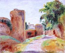 Walls in Spain - Pierre Auguste Renoir