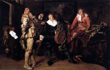 Actors' Changing Room - Pieter Codde