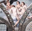 Cupid and the Three Graces (Villa Farnesina, Rome)