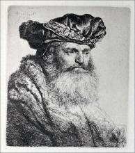 Old Man, Wearing a Rich Velvet Cap