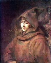 Portrait of Titus in Monk Costume