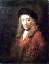 Portrait of Titus with a Big Beret (also known as Portrait of a Young Man)