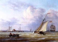 Philadelphia Harbor - Richard Henry Nibbs