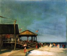 At Far Rockaway - Robert Henri