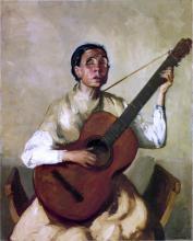 Blind Spanish Singer - Robert Henri