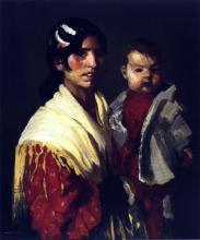Maria y Consuelo (Gitana)