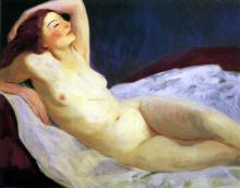 Reclining Nude (Barbara Brown)