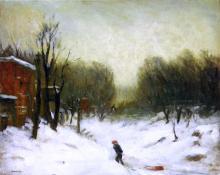 Seventh Avenue in the Snow