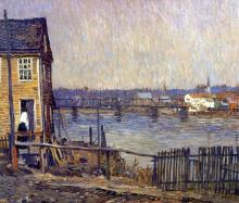 A Fisherman's House - Robert Spencer