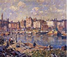 Harlem River - Robert Spencer