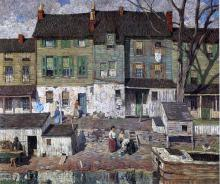 On the Canal, New Hope - Robert Spencer