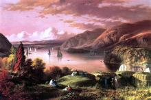 A View of the Hudson from West Point - Robert Walter Weir