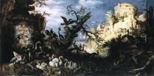 Landscape with Birds - Roelandt Jacobszoon Savery