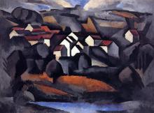 Landscape at Ferte-Soud Jouarre, Final Version