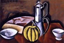 Still Life with Coffee Pot and Melon