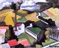 The Factory Chimney, Meulan Landscape