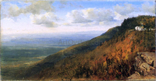 A Sketch from North Mountain, In the Catskills - Sanford Robinson Gifford