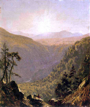 A Sketch in Kauterskill Clove - Sanford Robinson Gifford