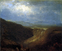 A Souvenir of the Catskills - Sanford Robinson Gifford