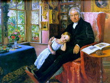 James Wyatt and His Grandaughter Mary
