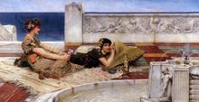 Loves Votaries - Sir Lawrence Alma-Tadema
