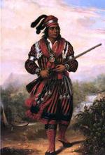 Portrait of a Seminole Chief, North America