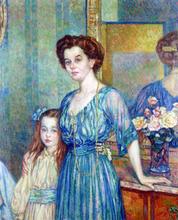 Madame Von Bodenhausen avec son enfant Luli
