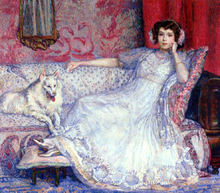 The Woman in White (also known as Portrait of Madame Helene Keller)