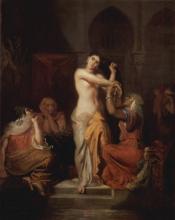 Harem Femme Mauresque sa Toilette