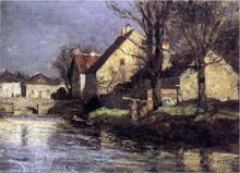 Canal, Schlessheim - Theodore Clement Steele