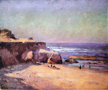 On the Oregon Coast - Theodore Clement Steele