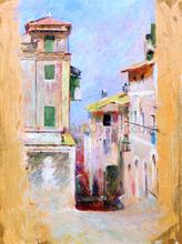 A Mediterranean View - Theodore Robinson